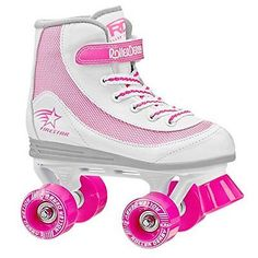 Youth 71156: Roller Derby 1978-03 Youth Girls Firestar Roller Skate, Size 3, White/Pink -> BUY IT NOW ONLY: $35.39 on eBay!