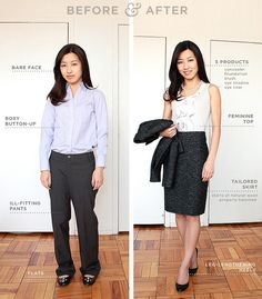GREAT tips on how to appear more professional and confident in mannerism and appearance; (i love this blog)