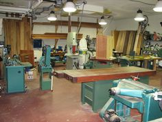 dream woodworking shop - Google Search
