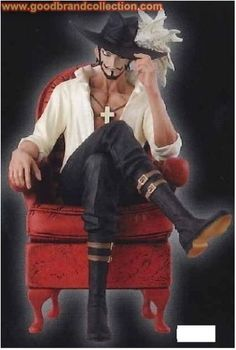Banpresto One Piece Creator x Creator Figure Dracule Mihawk Eye Color
