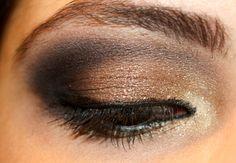 Final Bronze Fall Makeup Look