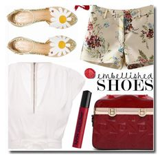"""""""New style"""" by soks ❤ liked on Polyvore featuring Charlotte Olympia, NYX and polyvoreeditorial"""
