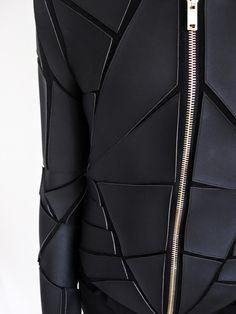 Gareth Pugh Geometric Paneled Jacket detail