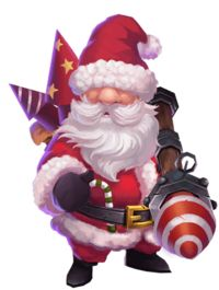 Skill is fireworks in different directions. Christmas Art, Winter Christmas, Game Character, Character Design, Castle Clash, 3d Sketch, Xmas Theme, Cute Chibi, Santa Gifts