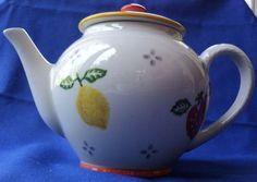 Laura Ashley Summer Fruits Teapot
