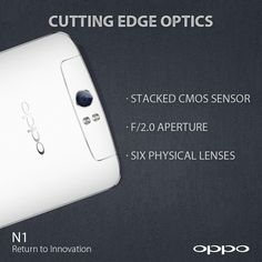 N1 is the first Android smartphone to use six physical lenses, giving you a clearer image while eliminating any distortion. The latest generation stacked CMOS sensor, upgraded type 1/3.06 imaging module and f/2.0 wide aperture lets more light in, so you can take great photos even in dark environments. en.oppo.com/n1/ #OPPON1