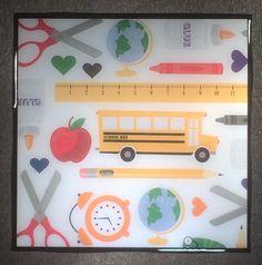 SCHOOL TEACHER GIFT Ceramic Tile Coaster