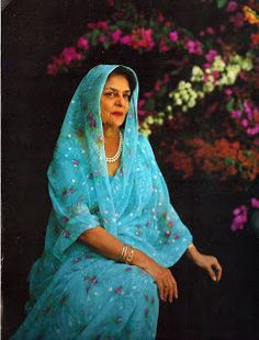 the style saloniste: Meeting Gayatri Devi