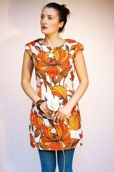 Hand Made Vintage Fabric Dress. £52.00, via Etsy.