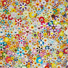 View Flowers Blooming in This World and the Land of Nirvana, 5 by Takashi Murakami on the KUMI Contemporary website