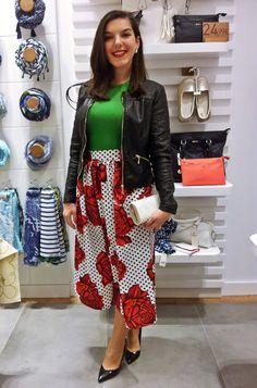 @diannetho en la inauguración de la nueva tienda Bissú en Málaga.