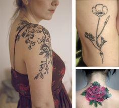 Mid-week Musings: Botanical-Inspired Tattoos
