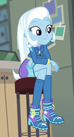 my little pony Trixie,very cute My Little Pony Baby, My Little Pony Friendship, My Little Pony Characters, Girls Characters, Cartoon Network Adventure Time, Adventure Time Anime, I Love You Girl, Princess Twilight Sparkle, Little Poney