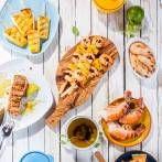 Dania z grilla w wersji fit - warzywa z grilla - Dietetyczny grill - fit przepisy Grilling, Tacos, Mexican, Ethnic Recipes, Fitness, Food, Crickets, Essen, Meals