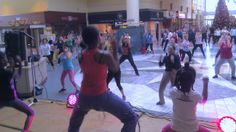 My Zumba Kids doing a routine for a zumbathon event; raising money for Typhoon Haiyan in the Philippines 2013