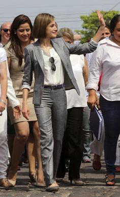 Queen Letizia of Spain visits El Salvador-2 27/05/2015