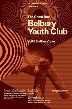 Ghost Box: Belbury Youth Club by Julian House.