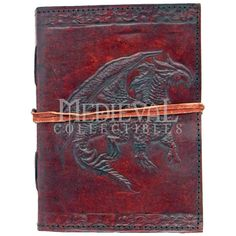 Dragon Leather Journal - 060-2228 by Medieval Collectibles