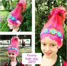 We've gathered our favorite ideas for Pin By Carolyn Spurling Lee On Elf On The Shelf Ideas, Explore our list of popular images of Pin By Carolyn Spurling Lee On Elf On The Shelf Ideas. Crazy Hair Day Girls, Crazy Hair For Kids, Crazy Hair Day At School, Crazy Hair Days, Little Girl Hairstyles, Hairstyles For School, Cute Hairstyles, Wacky Hair Days, Fantasias Halloween
