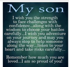 To each one of the guys we are raising.