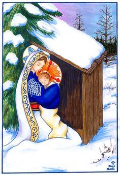 Madonna and Child of Tamaracks by FireFiriel on DeviantArt
