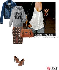 """""""On the go"""" by la-gata-fiera ❤ liked on Polyvore"""