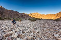 Your guide to hiking the Fish River Canyon in Namibia, including medical forms, advice on what to take, costs, booking information and maps. Survival, Hiking, Fish, Magazine, River, Mountains, Outdoor, Walks, Outdoors