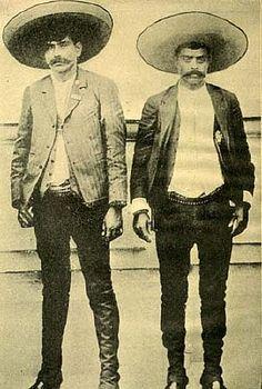 Los hermanos Zapata, asiduos a llevar sus sombreros mexicanos.  #sombrero #hat #pingletonhats  http://www.pingletonhats.com/