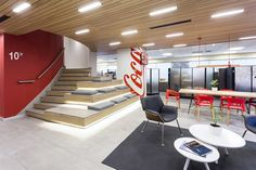Refreshment Centers Coca-Cola® Chile Office by Instore, Santiago – Chile » Retail Design Blog