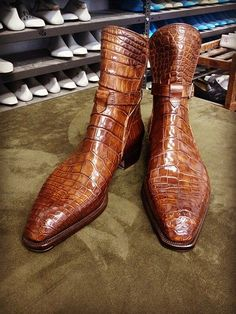 a46993b2fbb Alligator boots for sale