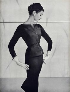 christian dior suits for women | 1947-1960 The New Look Women on Pinterest | Woman Suit, Christian Dior ...