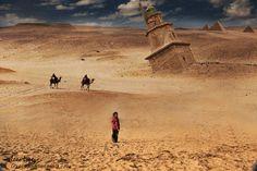 Torre de hercules en el desierto