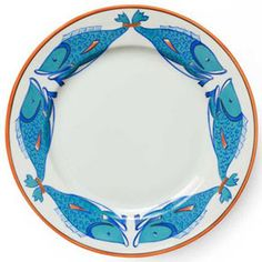 Lagon Dinner Plate by Alberto Pinto, $166.