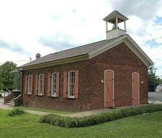 One room school house Decatur Illinois  now used by William Fiesler DDS