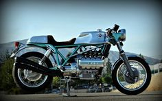 BMW K100 Cafe Racer by Larry Romestant #motorcycles #caferacer #motos   caferacerpasion.com
