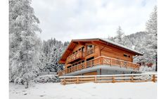 Chalet Le Torrent - Book this luxury Chalet in Crans Montana, Switzerland through Ski In Luxury. Features ski in ski out and fireplace.