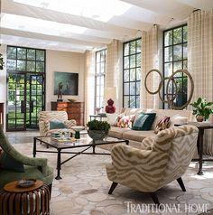 Charleston Home by Lisa Hilderbrand via Tradtional Home 11