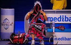 Petra Kvitova finding it hard to watch!  #tennis #ausopen www.australianopen.com