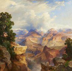 Thomas Moran, The Grand Canyon. Gilcrease Museum.