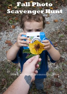 Fall Photo Scavenger Hunt from The Freckled Homeschooler