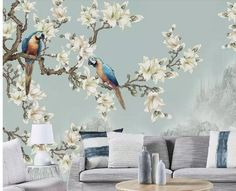 A.Peel and stick wallpaper.  1. We have added a new type of wallpaper, peel and stick, which is much easier for you to apply to your wall.  2.There is also about 2cm overlap and you need to cut them and just peel and stick and then apply to the wall. 3.We will cut in several panels if your wall