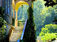 welcome to paradise, Sintra Portugal.. by Almeida Coval Treppen Stairs Escaleras repinned by www.smg-treppen.de