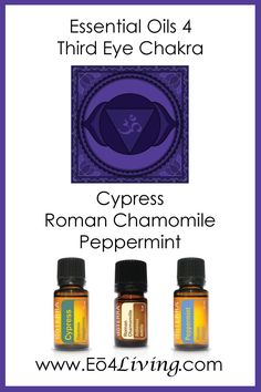 Essential Oils 4 Living: Essential Oils for your Chakras {Third Eye Chakra}