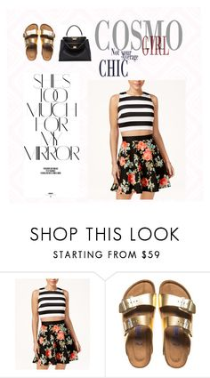 """""""simple yet chic ...(oldie)"""" by its-raeokay ❤ liked on Polyvore featuring Crystal Doll, Birkenstock, Fendi and Rika"""