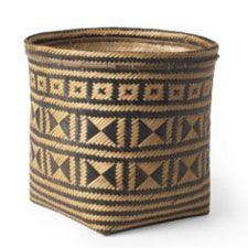 Love this made in Brazil woven storage basket.