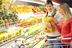 [フリー画像素材] 人物, カップル / 夫婦 / 恋人, 買い物 / ショッピング, スーパーマーケット, 二人 ID:201309241600