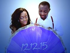 Gorgeous couple alert!  Congratulations on your upcoming wedding @blackbarbienow and @adeyemi_olamide  Photo by @georgewilliamsonphotography  #idonigeria #prewedding #engagement #weloveweddings #welovelove #nigerianwedding