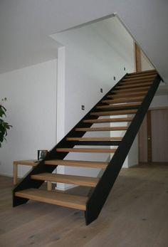 innentreppe stahltreppe mit holzstufen buche treppe stahl holz treppen treppe stahltreppen. Black Bedroom Furniture Sets. Home Design Ideas