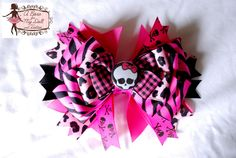 Monster High Hair Bow from A Bow for my Doll on Storenvy