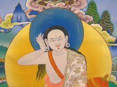 "Tanka  ""milarepa""(Tibet) | by arts and crafts ""GRASS"" since 1991"